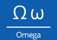 Náhled omega znak