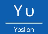 Náhled ypsilon znak